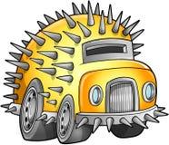 Apokaliptyczny Samochodowy pojazd ilustracji