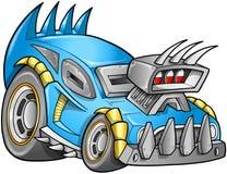 Apokaliptyczny Samochodowy pojazdu wektor Obrazy Stock