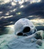 Apokalypset efter kriger Arkivbilder