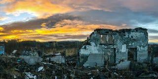 Apokalyptische Landschaft Lizenzfreie Stockbilder