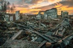 Apokalyptische Landschaft Lizenzfreie Stockfotografie