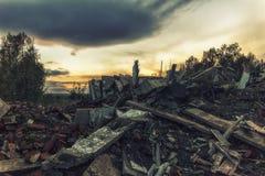Apokalyptische Landschaft Stockbilder