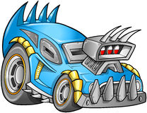 Apokalyptischer Auto-Fahrzeug-Vektor Stockbilder