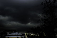 Apokalyptischer Himmel Lizenzfreie Stockfotografie