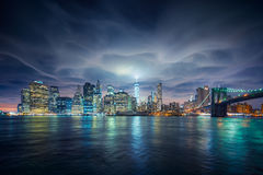 Apokalyptisches New York Lizenzfreie Stockbilder