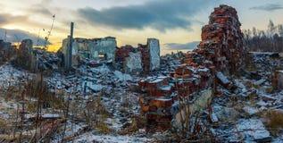 Apokalyptisk liggande Fotografering för Bildbyråer