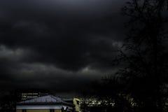 apokalyptisk sky Royaltyfri Fotografi