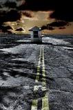 apokalyptiskt testpunkt Fotografering för Bildbyråer