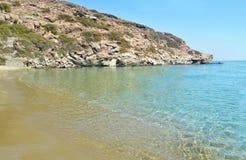 Apokofto beach Sifnos Greece stock photo