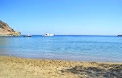 Apokofto beach Sifnos Greece stock photography