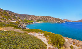Apokofto beach at Sifnos Greece royalty free stock images