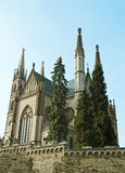 Apollinaris Kirche in Remagen, Deutschland Stockbild