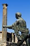 Apollo świątynia, Pompeii Zdjęcie Stock