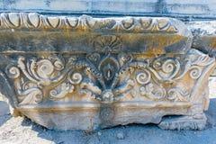 Apollo świątynia przy Didyma w Didim, Aydin, Turcja zdjęcia stock