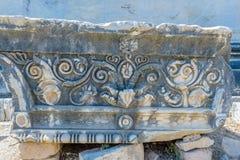 Apollo świątynia przy Didyma w Didim, Aydin, Turcja zdjęcie stock