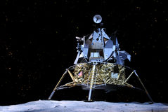 Apollo 17 Lunar Module Royalty Free Stock Photo