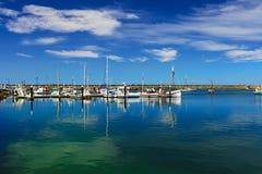 Apollo Bay Boats Stock Foto's