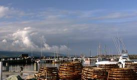 Apollo Bay Fishing Fleet Royalty Free Stock Image