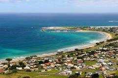 Apollo Bay, grande estrada do oceano, Victoria, Austrália Fotos de Stock