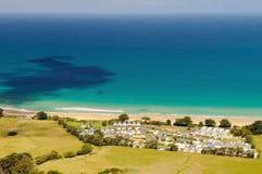 Apollo Bay, grande estrada do oceano, Victoria, Austrália Foto de Stock Royalty Free