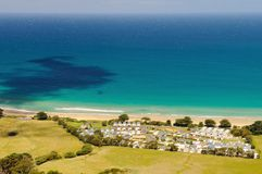 Apollo Bay, Grote Oceaanweg, Victoria, Australië Royalty-vrije Stock Foto