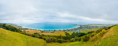 Apollo Bay township Stock Photography