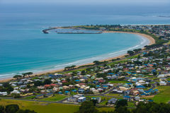 Apollo Bay township Stock Images