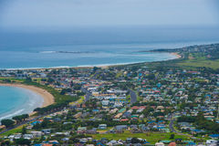 Apollo Bay township Royalty Free Stock Images