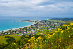 Apollo Bay township Royalty Free Stock Photo