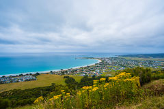 Apollo Bay township Stock Image