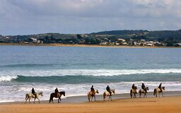 Apollo Bay. Vic Aust. Stock Images