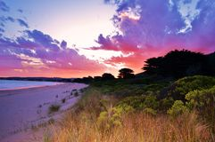 Apollo Bay, Victoria, Austrália Imagem de Stock Royalty Free