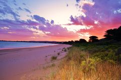 Apollo Bay, Victoria, Australië Stock Afbeeldingen