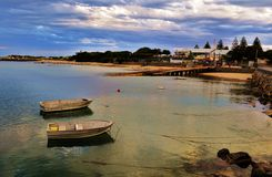 Apollo Bay, Victoria, Australië Royalty-vrije Stock Foto