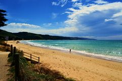 Apollo Bay, Victoria, Austrália Fotografia de Stock Royalty Free