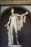 Apollo Belvedere. Vatican Museums in Rome, inside the Vatican City. Apollo Belvedere Stock Photo