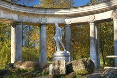 Apollo belweder w Pavlovsk parku, święty Petersburg, Rosja Fotografia Royalty Free