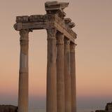 Apollo boczna Świątynia 02 Zdjęcia Royalty Free