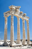 Apollo boczna Świątynia 04 Zdjęcia Royalty Free