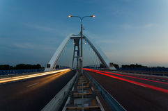 Apollo bridge in Bratislava Stock Images