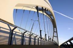 Apollo bridge in Bratislava. Slovakia, over Danube river Stock Images