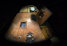 Apollo 8 Command Module. The Apollo 8 Command Module as it sits on display at the Kennedy Space Center's Apollo / Saturn V Center. Image shows the exterior of Stock Photos