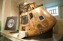 Apollo 10 Command Module in London's Science Royalty Free Stock Images