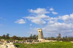 apollo cyprus hylates fördärvar fristaden Arkivbilder
