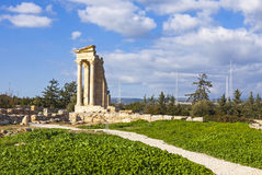 apollo cyprus hylates fördärvar fristaden Arkivfoton