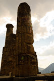 apollo delphi greece tempel Arkivbilder
