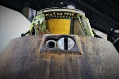 Apollo Fifteen Command Module Fotografie Stock