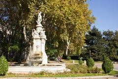 Apollo Fountain Stock Image