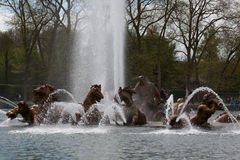 Apollo fountain in the castle gardens of Versailles Stock Photography