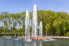 The Apollo Fountain, Versailles, France. The Apollo Fountain in Versailles, France Royalty Free Stock Photography